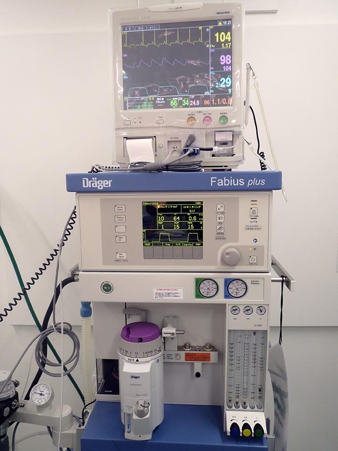 全身麻酔器